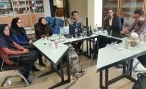 جلسات هفتگی دپارتمان آینده پژوهی بیمه سلامت استان کرمان